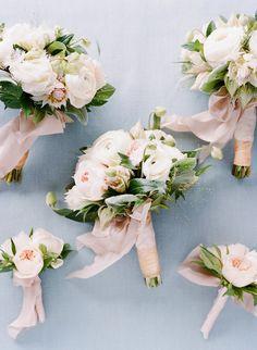 Photography: Joel Serrato - joelserrato.com Floral Design: Kathleen Deery Design - kathleendeerydesign.com   Read More on SMP: http://www.stylemepretty.com/2016/02/26/elegant-seaside-wedding-with-a-pop-of-orange/