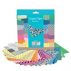 Papier origami AVENUE MANDARINE Geometric 60 feuilles : Chez Rentreediscount Loisirs créatifs Stickers, Products, Creative Art, Creative Crafts, Leaves, Gadget, Decals