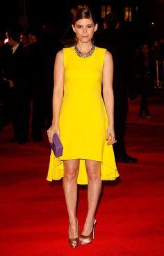 Kate Mara, en un look SS13 de Dior