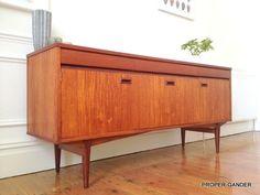 (6) **GORGEOUS** EoN Retro Teak sideboard Eames Heals Elliotts Of Newbury | eBay