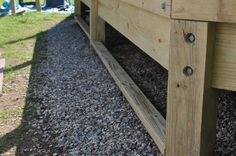 Deck skirting can be an attractive feature that can be added to any low level deck.