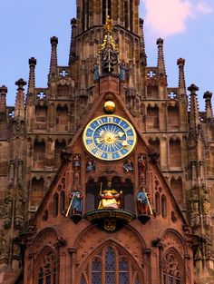 Nuremberg ~ Bavaria ~ Germany ~ Saint Sebaldus Church ~ Main Market Square