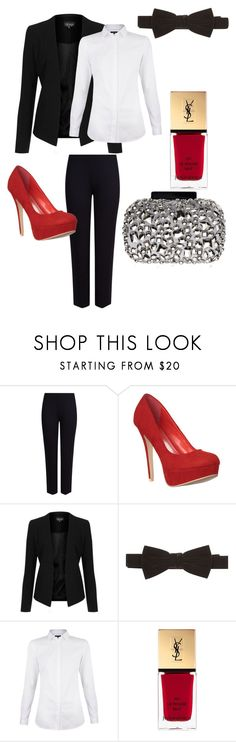 1 by lya-lya2007 on Polyvore featuring мода, Topshop, M&S Collection, Lipsy and Yves Saint Laurent
