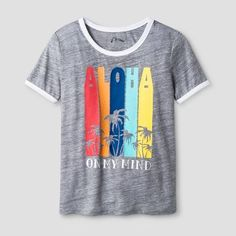 Girls' Graphic T-Shirt Art Class™ - Heather Grey
