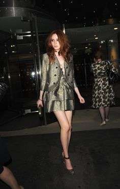 Birthplace: Inverness Date of Birth: November 28, 1987 Shoe Size: 9 US Buy or Watch Karen Gillan Movies Now. Arguably one of Scotland's hottest recent exports has to be the redheadedKaren Gillan who played Amy Pong in hit sci-fi TV show, Doctor Who...