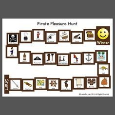 Pirate Pleasure Hunt - Pinned by – Please Visit for all our pediatric therapy pins Articulation Therapy, Articulation Activities, Language Activities, Therapy Activities, Therapy Ideas, Language Lessons, Phonics, Speech Pathology, Speech Language Pathology