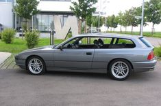 BMW850 Touring. I never knew that these existed. Yet another example of the best cars never imported to theU.S.