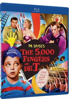 The 5,000 Fingers of Dr. T - Blu-Ray (Mill Creek Entertainment Region A) Release Date: June 7, 2016 (Amazon U.S.)