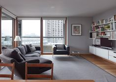 Quinn Architects renovates flat in London's Barbican Estate