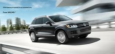 The VW Touareg is a combination of great design with incredible performance. Someday I hope to have my Touareg back. The kicks ass. My Dream Car, Dream Cars, Vw Toureg, Touareg Tdi, Winter Car, Find A Match, Automotive Photography, Luxury Suv, Fuel Economy