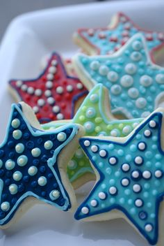 Starfish Cookies, sn