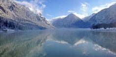"Stimmungsvoller Wintermorgen am ""stillsten See Tirols"" Mountains, Nature, Travel, Trout, Naturaleza, Viajes, Trips, Off Grid, Natural"