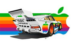 Porsche 935 Group 5 Apple Computer by LindStyling on DeviantArt - Radio Control Pictures Apple Computer, Rc Cars For Sale, Porsche 935, Car Drawings, Automotive Art, Deviantart, Rally Car, Vintage Racing, Sport Cars