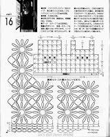 Tina's handicraft : 2 designs with crochet flowers