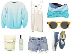 the perfect outfit for a surfer girl