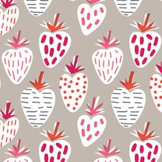 print & pattern: DESIGNER - mr william draw for nina Motifs Textiles, Textile Patterns, Textile Design, Fabric Design, Patterns In Nature, Pretty Patterns, Beautiful Patterns, Color Patterns, Fruit Illustration
