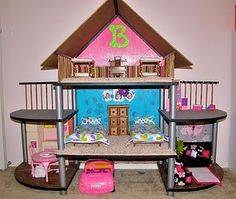 TV Stand=Barbie House