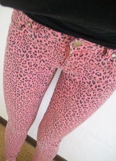 Kup mój przedmiot na #Vinted http://www.vinted.pl/damska-odziez/rurki/3245162-panterkowe-spodnie