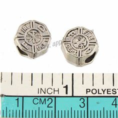 Zinc Alloy Large Hole Beads,FireDept,Plated,Cadmium And Lead Free,Various Color For Choice,Approx 11.5*7mm,Hole:Approx 4.5mm,Sold By Bags,No 010127