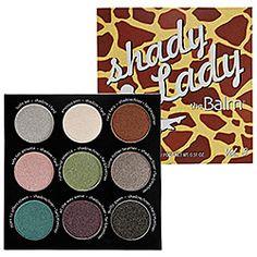 "TheBalm, ""Shady Lady,"" Vol. 3 (love these palettes, great quality eyeshadows)"