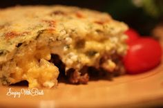 Beef Zucchini Party Casserole | singingwithbirds.com