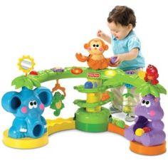 Selva Animada da Fisher Price. Brinquedo e Brincadeira. Sons luzes, esse brinquedo é ótimo para faze em que o bebê começa a ficar em pé. Alugar