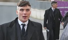 Cillian Murphy, cause he's stars in things that are both excellent historically and especially for fashion and hair. Late 1910s, early 1920s. Peaky Blinders
