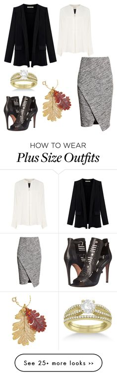 """Work"" by tamsinhartnell on Polyvore featuring H&M, Derek Lam, Rebecca Minkoff and Allurez"