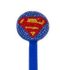 Superman Pacifier Clip