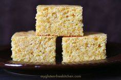 The Best Gluten-free Sweet Cornbread You'll Ever Have!