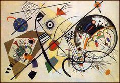 Artes do A'Uwe: Obras de Kandinsky, pai da arte abstrata