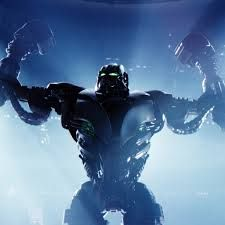 Real steel zeus wallpaper Find in this article, HD Wallpaper for your Desktop, Mobile. High quality image for you. 4k Wallpaper Download, Full Hd Wallpaper, Widescreen Wallpaper, Wallpaper Pictures, Car Wallpapers, Man In Black, Robot Costumes, Real Steel, Steel Art