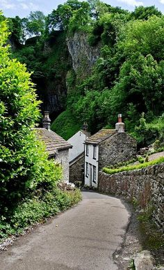 Castleton, em Derbyshire, Inglaterra, Reino Unido. Fotografia: Norman Smith no Flickr.