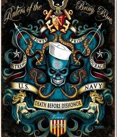 Acquire the finest Metal US Navy Signs and make your collection best from the rest. So,go and grab the best with our exclusive collection of Military Navy Signs Military Signs, Navy Military, Military Service, Us Navy Tattoos, Sailor Tattoos, Navy Humor, Patriotic Pictures, Navy Chief, Go Navy