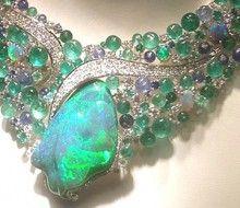 Scavia opal necklace  so beautiful