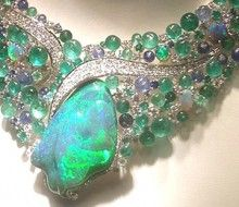 Scavia opal necklace  so beautiful