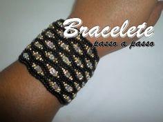 NM Bijoux - Bracelete Preto/Dourado - YouTube