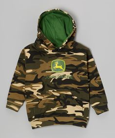 This John Deere Camo Branded Hoodie - Infant by John Deere is perfect! #zulilyfinds
