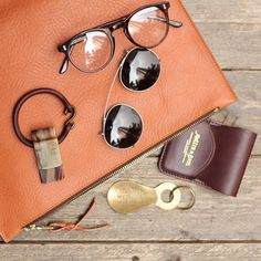 Frank Clegg Pouch The Bespoke Dudes Glasses with Clip-on Muller & Bros. Card Case UES Shoehorn and Key Chain Abbeyhorn Money Clip The Flat Head Single Bracelet