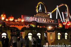 Mia and Derrick had a scary-good time on their date at Knott's Scary Farm during October!