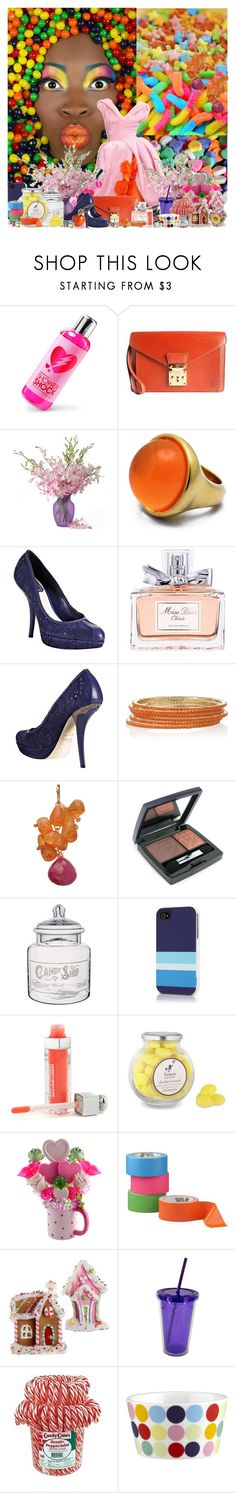 """......."" by purplecherryblossom ❤ liked on Polyvore featuring Candie's, Christian Dior, ThinkGeek, Louis Vuitton, Isharya, Calico Juno, Williams-Sonoma, Crate and Barrel, WALL and Salt Water Sandals"
