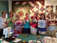 Flying Swallows class at www.sagercreekquilts.com