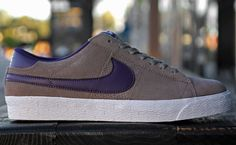 Nike SB Blazer Low - Iron Grey / Quasar Purple