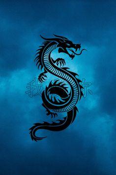 Dragon Tattoo Colour, Dragon Tattoo Art, Tribal Dragon Tattoos, Celtic Dragon Tattoos, Dragon Artwork, Dragon Tattoo Designs, Dragon Wallpaper Iphone, Black Phone Wallpaper, Lion Wallpaper
