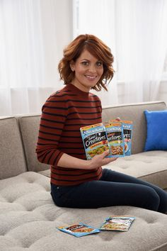Candace Cameron Bure Photos - Candace Cameron Bure celebrates partnership with Starkist Tuna on February 2017 in New York City. - Candace Cameron Bure Partners With Starkist Tuna Candice Cameron Bure, Starkist Tuna, February 1, Stitch Fix Outfits, Shopping Day, Full House, Three Kids, Selena Gomez, Queen