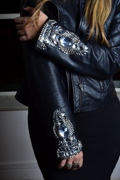 jaquetas customizadas | Look jaqueta de couro do poder! - Blog da Cecilia Ribeiro