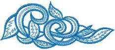 vignette free embroidery design. Machine embroidery design. www.embroideres.com