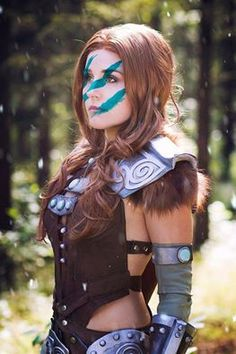 Cosplayer: Naoko Cosplay Photographer: Jak Cosplay Character: Aela the Huntress From: The Elder Scrolls Country: Germany