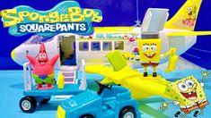 SpongeBob & Patrick Star SquarePants Airplane Playset From Nickelodeon T...