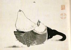 136.5×60.0cm Ito Jakuchu (1716-1800)